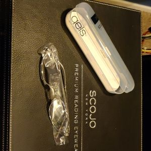 Scojo New York Gels Crystal +1.75